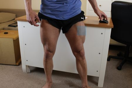 how to give yourself a testosterone injection in the leg